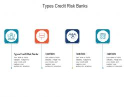Types Credit Risk Banks Ppt Powerpoint Presentation Infographics File Formats Cpb