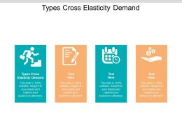 Types Cross Elasticity Demand Ppt Powerpoint Presentation Model Layouts Cpb