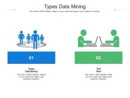 Types Data Mining Ppt Powerpoint Presentation Inspiration Slide Portrait Cpb