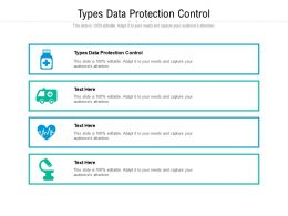 Types Data Protection Control Ppt Powerpoint Presentation Slides Objects Cpb