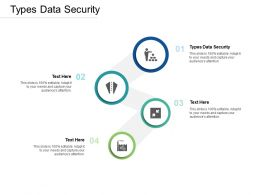 Types Data Security Ppt Powerpoint Presentation Summary Styles Cpb
