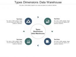 Types Dimensions Data Warehouse Ppt Powerpoint Presentation Styles Summary Cpb