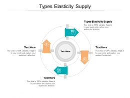 Types Elasticity Supply Ppt Powerpoint Presentation Styles Graphic Tips Cpb
