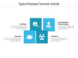 Types Employee Turnover Include Ppt Powerpoint Presentation Pictures Template Cpb