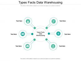 Types Facts Data Warehousing Ppt Powerpoint Presentation File Smartart Cpb