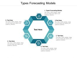 Types Forecasting Models Ppt Powerpoint Presentation Summary Guide Cpb