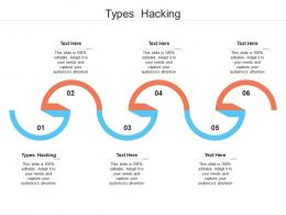 Types Hacking Ppt Powerpoint Presentation Model Infographics Cpb