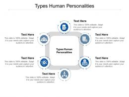 Types Human Personalities Ppt Powerpoint Presentation Show Outline Cpb