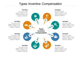 Types Incentive Compensation Ppt Powerpoint Presentation Ideas Styles Cpb