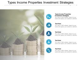 Types Income Properties Investment Strategies Ppt Powerpoint Presentation Slides Themes Cpb