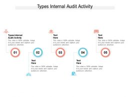 Types Internal Audit Activity Ppt Powerpoint Presentation Slides Format Ideas Cpb