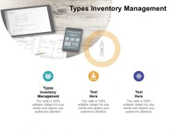 Types Inventory Management Ppt Powerpoint Presentation Ideas Model Cpb