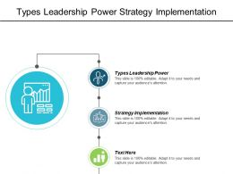 Types Leadership Power Strategy Implementation Corporate Governance Predictive Analytics Cpb