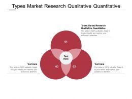 Types Market Research Qualitative Quantitative Ppt Powerpoint Model Picture Cpb