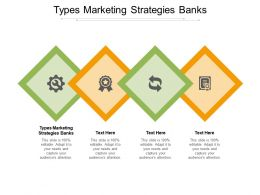 Types Marketing Strategies Banks Ppt Powerpoint Presentation Infographic Template Ideas Cpb