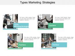 Types Marketing Strategies Ppt Powerpoint Presentation Summary Format Ideas Cpb