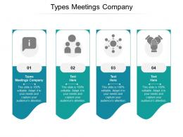 Types Meetings Company Ppt Powerpoint Presentation Ideas Pictures Cpb