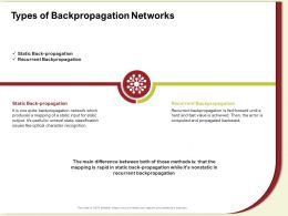 Types Of Backpropagation Networks Static Ppt Powerpoint Presentation Gallery Vector