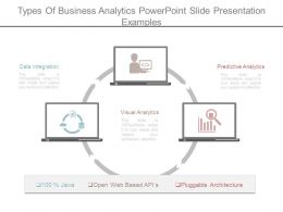 Types Of Business Analytics Powerpoint Slide Presentation Examples