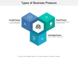 Types Of Business Pressure
