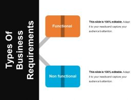 Types Of Business Requirements Powerpoint Topics
