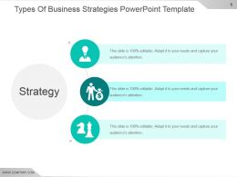 Types Of Business Strategies Powerpoint Template
