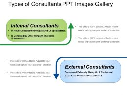 Types Of Consultants Ppt Images Gallery