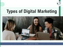 Types Of Digital Marketing Framework Implement Analyze Business Optimization Implementation