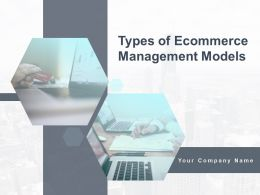 Types Of Ecommerce Management Models Powerpoint Presentation Slides
