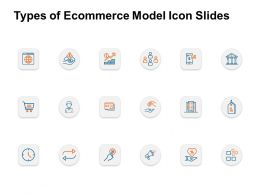 Types Of Ecommerce Model Icon Slides Strategy I393 Ppt Powerpoint Presentation Pictures