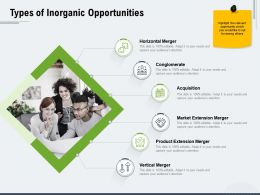 Types Of Inorganic Opportunities Ppt Powerpoint Presentation Icon Introduction