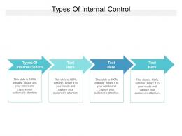 Types Of Internal Control Ppt Powerpoint Presentation Gallery Designs Download Cpb
