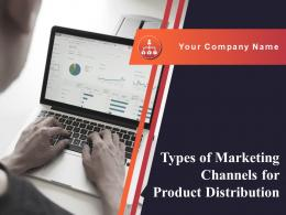 Types Of Marketing Channels For Product Distribution Powerpoint Presentation Slides