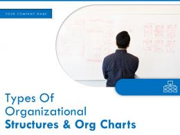 Types Of Organizational Structures And Org Charts Powerpoint Presentation Slides
