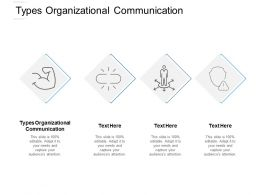Types Organizational Communication Ppt Powerpoint Presentation Summary Cpb