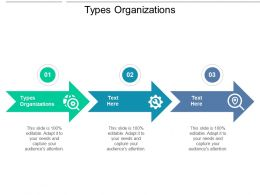 Types Organizations Ppt Powerpoint Presentation Ideas Templates Cpb