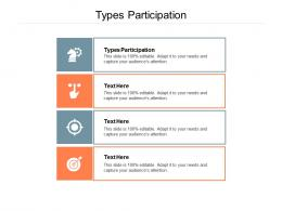 Types Participation Ppt Powerpoint Presentation Infographics Graphics Template Cpb