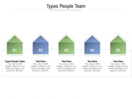 Types People Team Ppt Powerpoint Presentation Gallery Diagrams Cpb