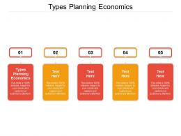 Types Planning Economics Ppt Powerpoint Presentation Styles Show Cpb