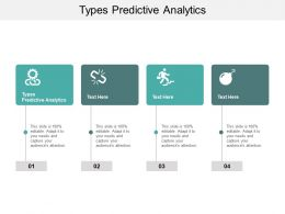 Types Predictive Analytics Ppt Powerpoint Presentation Slides Display Cpb