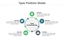 Types Predictive Models Ppt Powerpoint Presentation Styles Ideas Cpb