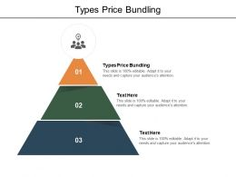 Types Price Bundling Ppt Powerpoint Presentation Ideas Clipart Images Cpb