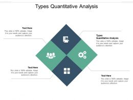 Types Quantitative Analysis Ppt Powerpoint Presentation Slides Files Cpb