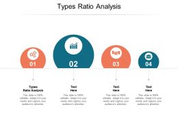 Types Ratio Analysis Ppt Powerpoint Presentation Summary Themes Cpb
