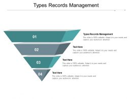 Types Records Management Ppt Powerpoint Presentation Summary Clipart Images Cpb