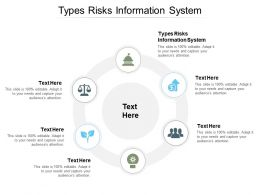 Types Risks Information System Ppt Powerpoint Presentation Icon Master Slide Cpb