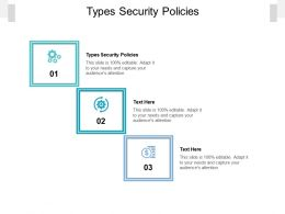 Types Security Policies Ppt Powerpoint Presentation Infographics Tips Cpb