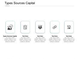 Types Sources Capital Ppt Powerpoint Presentation Layouts Clipart Cpb