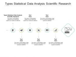 Types Statistical Data Analysis Scientific Research Ppt Powerpoint Presentation Slides Background Image Cpb