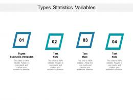 Types Statistics Variables Ppt Powerpoint Presentation Infographics Deck Cpb